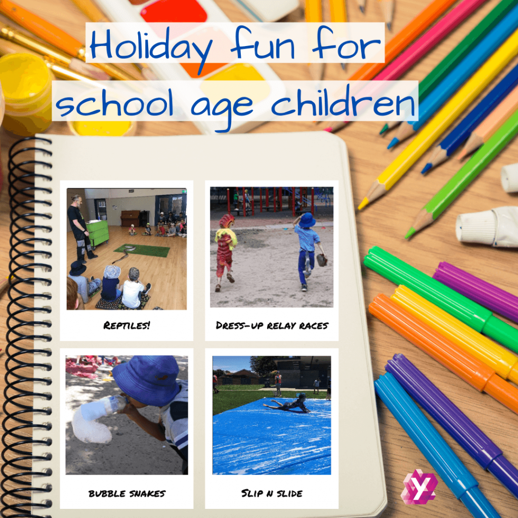 images of kids doing fun holiday activities