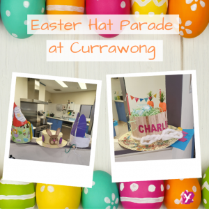 a photo of easter celebration at Currawong centre