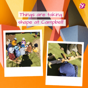 images of kids playing at campbell childcare